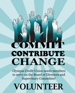Olympia Credit Union - Volunteers Needed