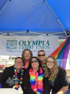 2016 Pride booth
